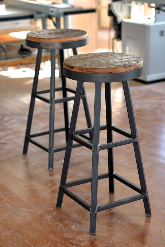 Reclaimed Extra Tall Stols